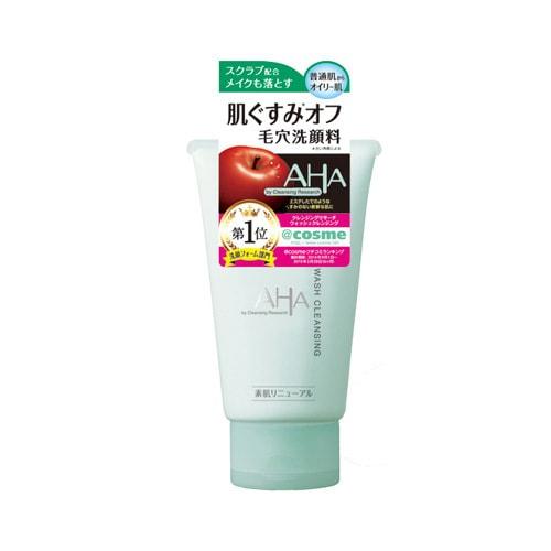 日本BCL LAB 苹果 AHA 极细小颗粒柔肤深层洁面乳 120g COSME大赏第一位