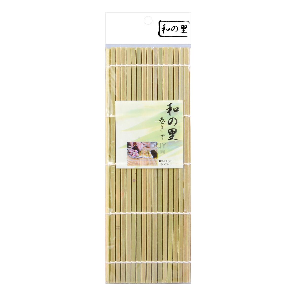 天然竹寿司卷/寿司帘 24cm
