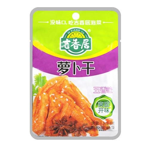 JIXIANGJU Five Flavor Pickled Radish 80g