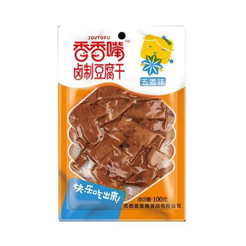 香香嘴 卤制豆腐干 五香味 100g 四川特色零食