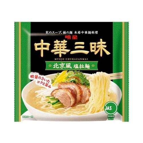 日本MYOJO明星 中华三昧 袋装拉面 北京风味 100g