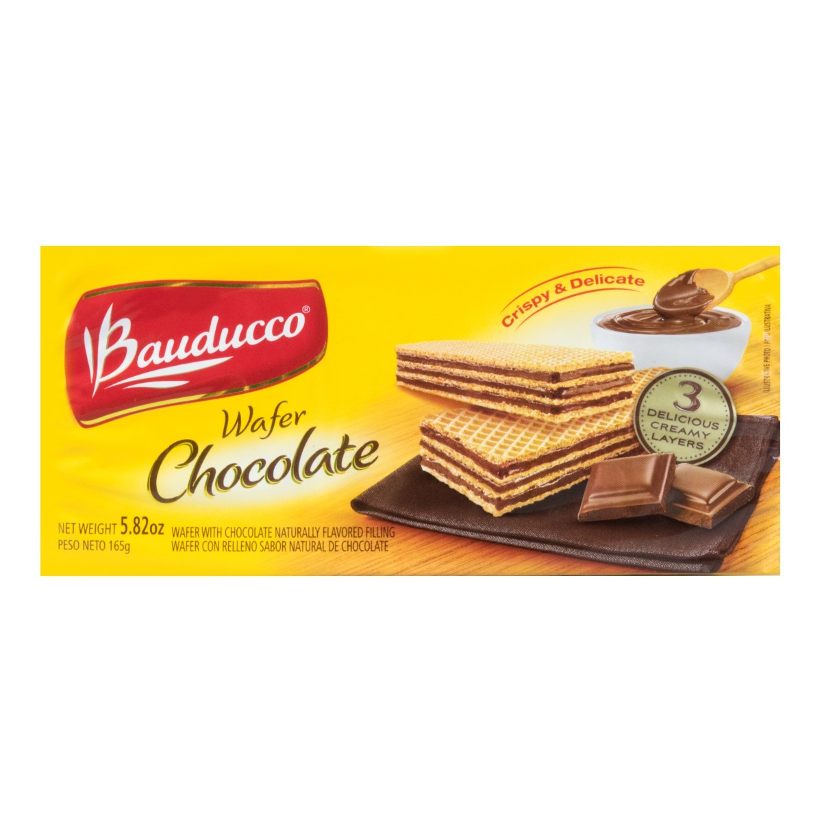 BAUDUCCO Wafer Chocolate 165g