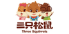 [China Direct Mail] Three squirrels sandwich seaweed Instant sea snacks seaweed Badan wood sandwich flavor 36g