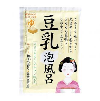 日本KIYOU纪阳除虫菊 舞妓豆乳美肌泡泡浴盐 柚子香