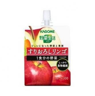 KAGOME Apple and Carrot Fiber Jelly 180g