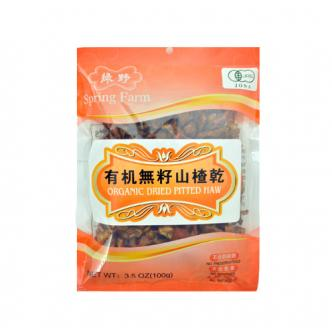 SPRING FARM Organic Dried Pitted Haw 100g