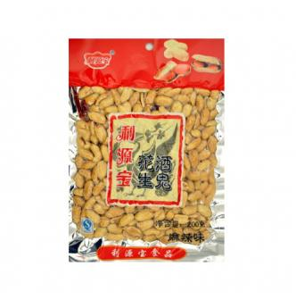 LI YUAN BAO Fried Spicy Peanuts 200g