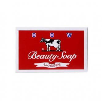 日本COW牛乳石鹼共进社 保湿滋润美肤香皂 玫瑰香 100g