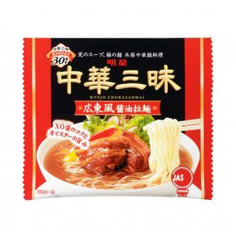 MYOJO Japanese Noodles with Soup Base -Salt Soybean Flavor 106g