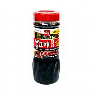 韩国WANG 梨汁牛肉烤肉酱 480g
