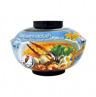FASHION FOOD Spicy Rice Soup with Seafood 50g