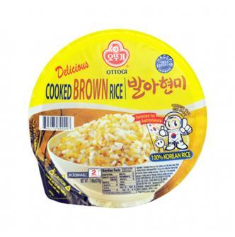 韩国OTTOGI不倒翁 微波糙米饭 2分钟即食 210g