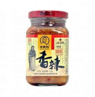 WANGZHIHE Chili Bean Curd 240g