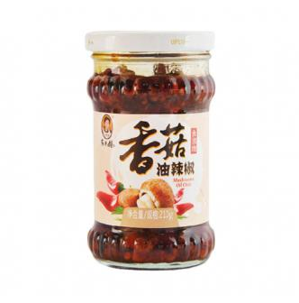 LAOGANMA Oil Chili Condiment with Mushroom 210g