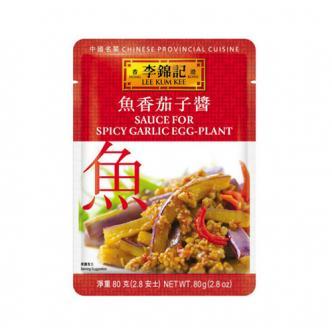 香港李锦记 中国名菜系列之鱼香茄子酱 80g