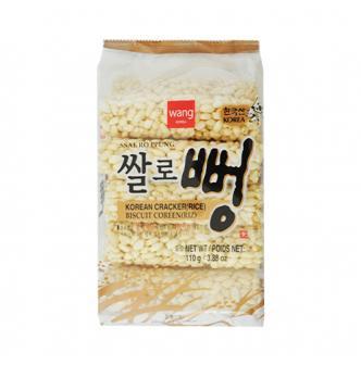 韩国WANG 天然香脆米花糖 110g 童年回忆