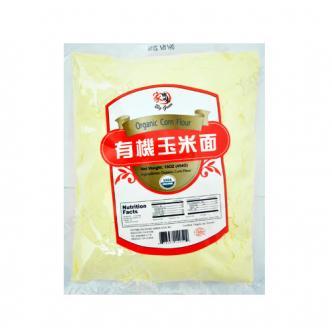 家乡味 绿色有机玉米面 454g 窝窝头玉米粥专用 USDA认证