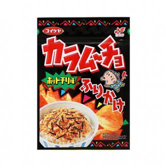 日本KOIKEYA湖池屋 咔辣姆久 饭更香拌饭料 辣薯片味 27g