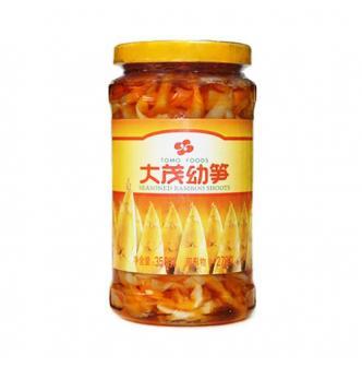 大茂 特选幼笋 350g 不含防腐剂 福建特产