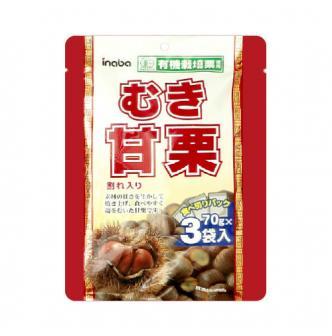 INABA Chestnut Yuki Yakiguri 3pc