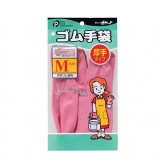 日本FAMILY GOODS 绒里橡胶手套 M中号 多种颜色随机发送