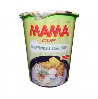 泰国MAMA妈妈 清汤油蔬菜粉丝 杯装 50g