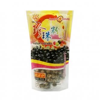 台湾五福圆 黑珍珠粉圆 快速型 250g