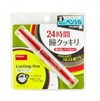 日本DEJAVU Lasting- Fine持久紧密圆滑眼胶笔 自然黑
