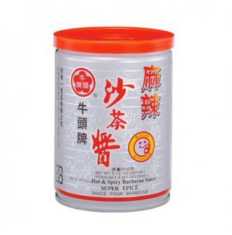 台湾牛头牌 麻辣沙茶酱 250g
