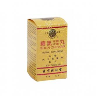 TONG REN TANG Shun Chi Wan - Herbal Supplement 300 Pills