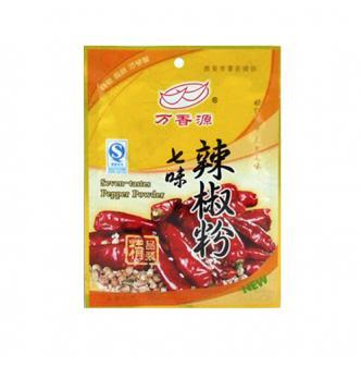 万香源 中华传统植物精华调料 七味辣椒粉 30g