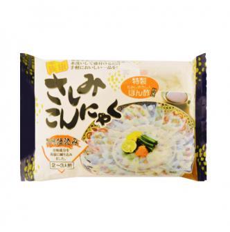 日本SAN SYOKUHIN 超低卡纤体魔芋刺身 2-3人份 140g
