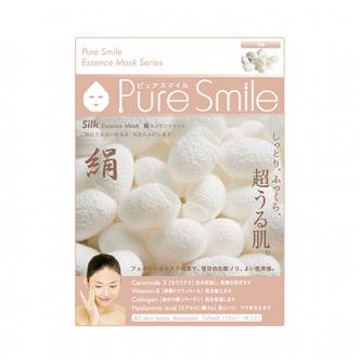 PURE SMILE Silk Essence Facial Mask Series 1sheet