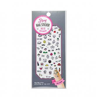ETUDE HOUSE Play Nail Sticker 10Sketchbook 1 Piece