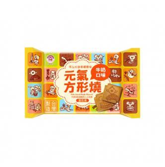 台湾天鹏 元气方块烧 牛奶口味 40g