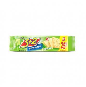 MASTER KONG 3+2 Sandwich Cracker Scallion&Cream 125g