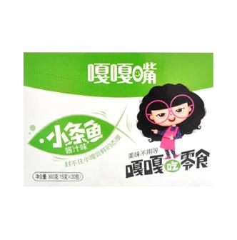 GAGAZUI Fish Snack Soy Sauce Flavor 15g*20pc