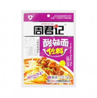 重庆周君记 特色川味调料 酸辣面佐料 150g