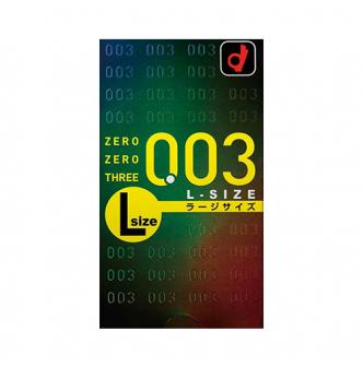 OKAMOTO 0.03 L Size Lubricated Condoms Ultra Thin 10pc