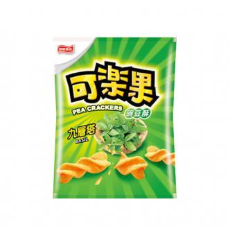 台湾联华食品 可乐果 豌豆脆 九层塔味 57g 阿妹代言