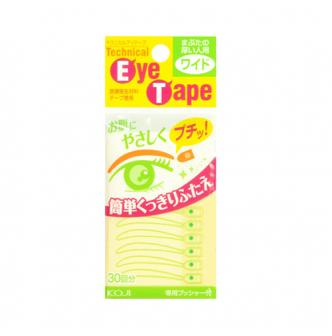KOJI EYE TALK Double Eyelid Technical Eye tape (wide) 30 Pieces