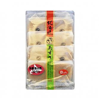 日本KOYOBUKI 北海道小豆风味铜锣饼 8枚入