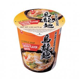 韩国NONGSHIM农心 3分钟泡食乌龙杯面 鲜香鸡肉味 75g