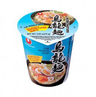 韩国NONGSHIM农心 3分钟泡食乌龙杯面 清新海鲜味 75g
