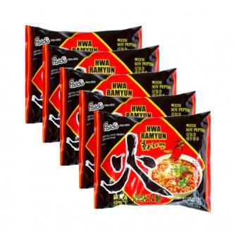 PALDO Instant Ramen Hot Flavor 5 Packs
