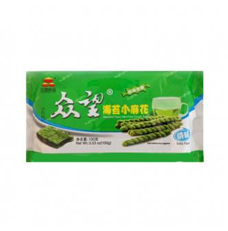 ZHONGWANG Seaweed Flavor Mini-Fried Dough Twist 100g