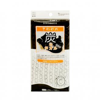 日本KOKUBO小久保 竹炭纤维搓澡巾