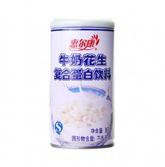 惠尔康 牛奶花生复合蛋白饮料 365g