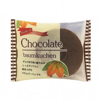 日本ATOM 经典迷你年轮蛋糕 巧克力味 80g