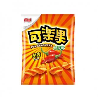 台湾联华食品 可乐果 豌豆脆 酷辣味 57g 阿妹代言